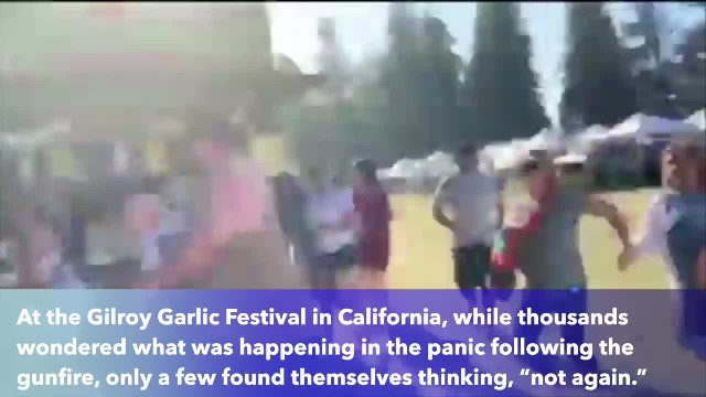 Woman escapes gunfire at Gilroy festival also survived mass shooting in Las Vegas