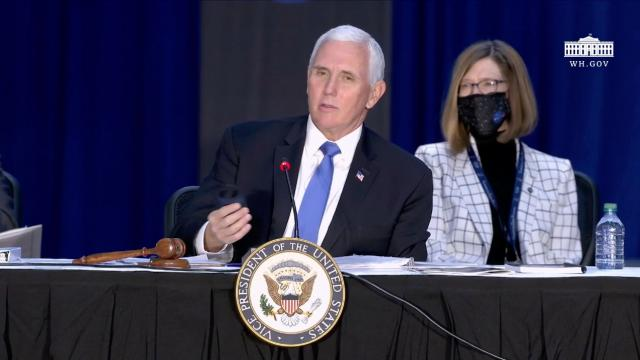 Vice President Pence chairs the eighth meeting of the national space council