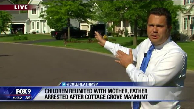Witnesses recount Cottage Grove AMBER Alert situation