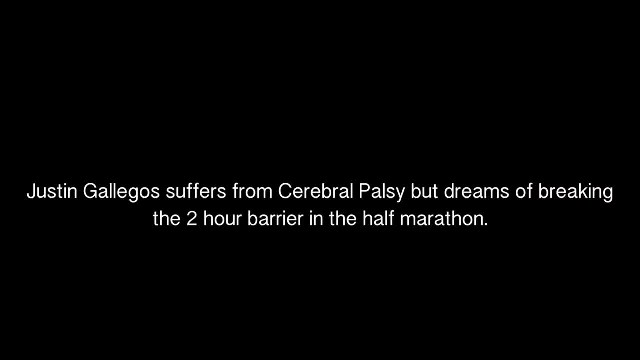 Runner with cerebral palsy collapses in tears when global sports company signs him - Inspirestory