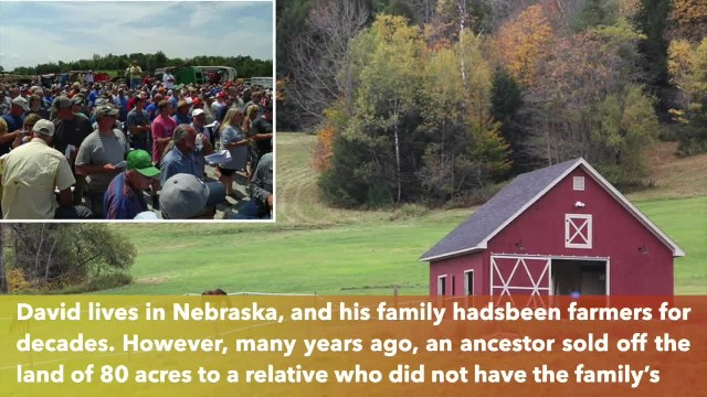 200 Nebraska farmers remain silent during auction so young man can buy his family farm back