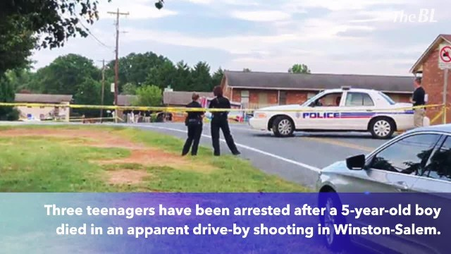 3 teenagers charged in shooting death of 5-year-old boy in Winston