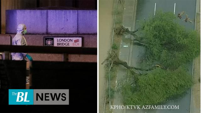 The BL news in 3 - Bridge attacker had been jailed for terror crimes - Arizona storm brings rain, sn