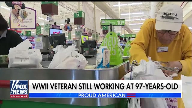 WWII VETERAN STILL WORKING AT 97-YEARS-OLD