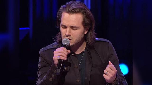 From the first note this powerful rendition of 'Unchained Melody' may be your new favorite