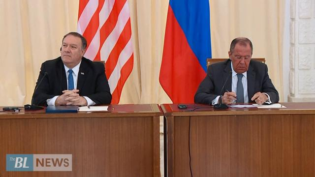 Pompeo tells Russia Interference in 2020 is unacceptable