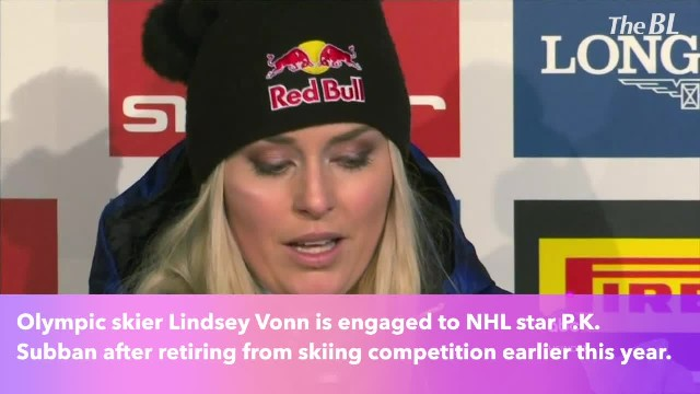 Decorated Olympic skier Lindsey Vonn gets engaged to NHL star P.K. Subban