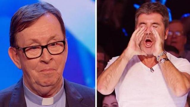 Irish priest takes stage, and his amazing vocals make Simon say it's his, 'favorite audition ever'