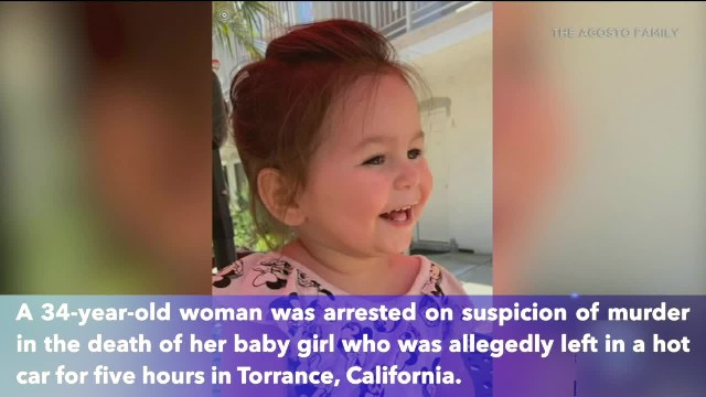 Mother arrested on suspicion of murder after her toddler left in hot car in California