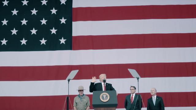 President Trump Visits the 2017 National Scout Jamboree