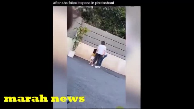 Camera Catches Mom Kicking 3-Year-Old Daughter For Failing To Pose Correctly For Photo Shoot