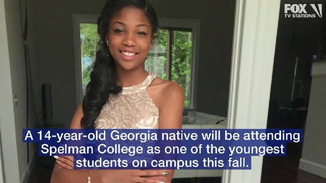 14-year-old gets into Spelman College, becoming youngest student on campus 'in recent memory'
