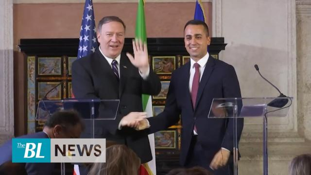 Pompeo warns Italy of Chinese Communist Party and talks Trump Ukraine call