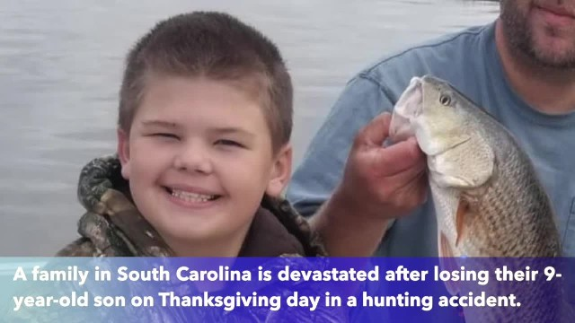 9-year-old accidentally shot, killed by father while hunting in SC on Thanksgiving