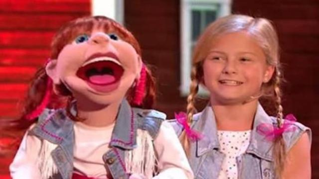 Darci Lynne stuns crowd with incredible yodelling
