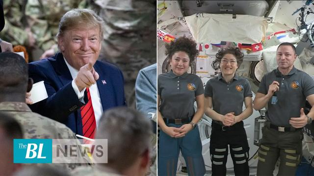 The BL news in 3 - President Trump makes surprise visit to Afghanistan