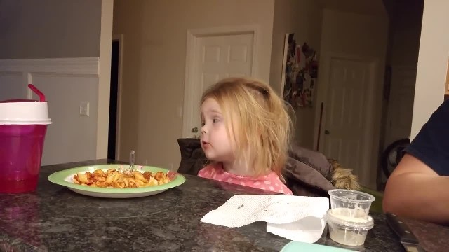 Daddy Asks A Serious Question - But Her Hilarious Response Has Even Him Cracking Up