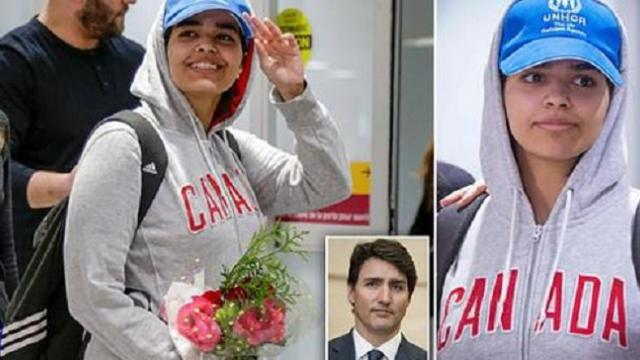 Saudi teen, 18, touches down in Toronto after rejecting Islam and fleeing family