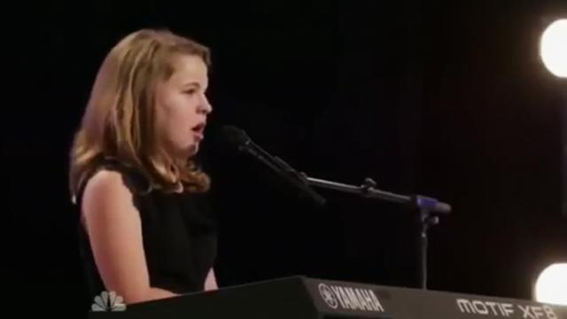 10-year-old sings a classic so flawlessly judges forced to call her a superstar