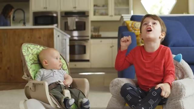 Four-Year-old gives 'tip' to baby brother about grandma and it's impossible not to laugh