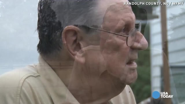 90-Year-Old Husband Saves Wife Trapped Inside House Fire