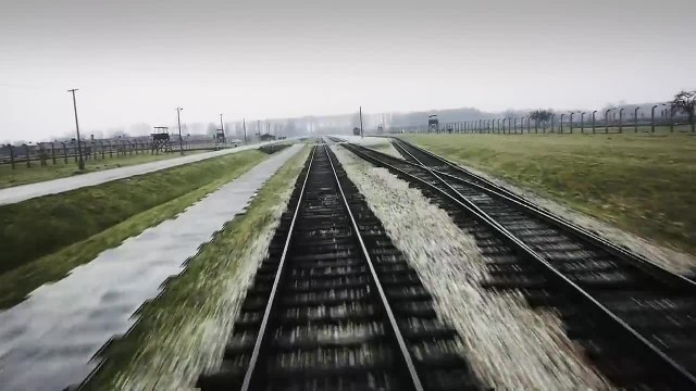 Auschwitz- Drone video of Nazi concentration camp - BBC News