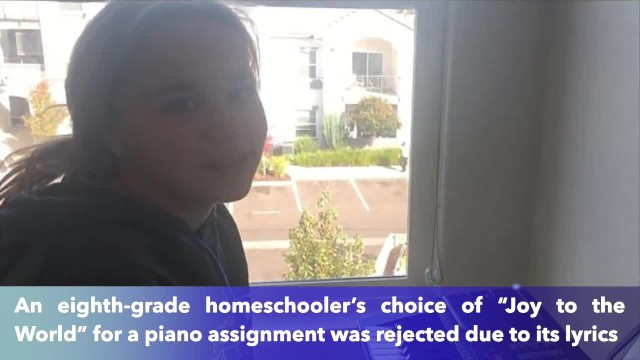 School reverses decision after it rejects 'Joy to the World' for a piano assignment for being too 'r