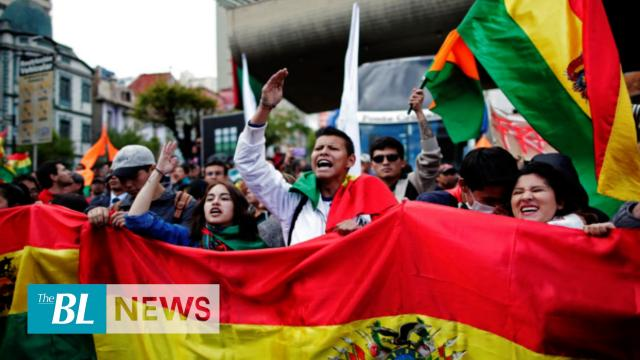 Protests against alleged electoral fraud by Evo Morales