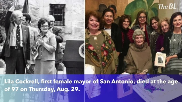 Lila Cockrell, San Antonio's first woman mayor, dies at 97