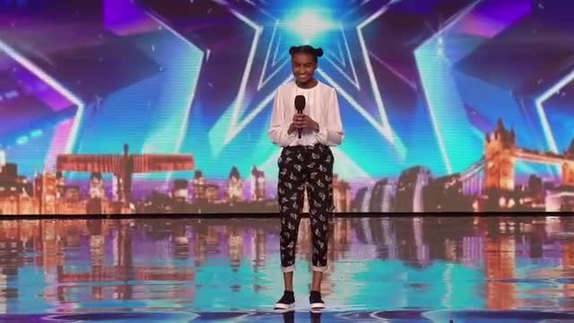 Shy 14-year-old steps onstage, paralyzes judges with her unique spin of Cher's 'Believe'