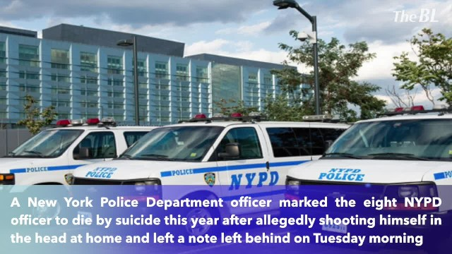 Officer committed suicide at home, the eighth NYPD suicide this year