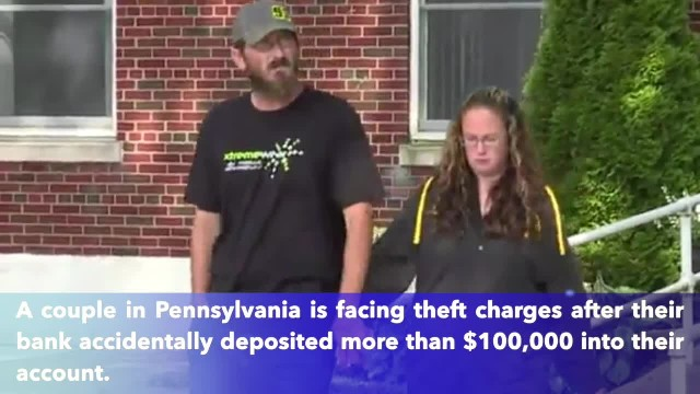 Couple arrested after spending more than $100,000 accidentally deposited in their account
