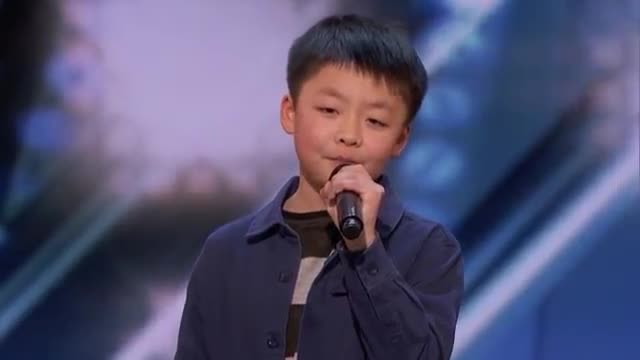 Lonely 12-year-old belts out 'You raise me up', then Simon promises to buy him a dog
