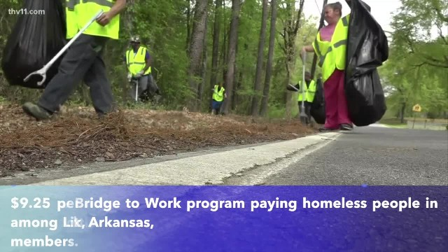 Former homeless man in Little Rock pays for new home with money earned from cleanup program