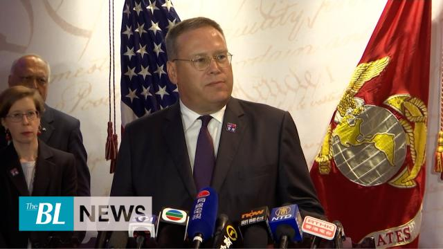 US consul general speaks out on Hong Kong protests