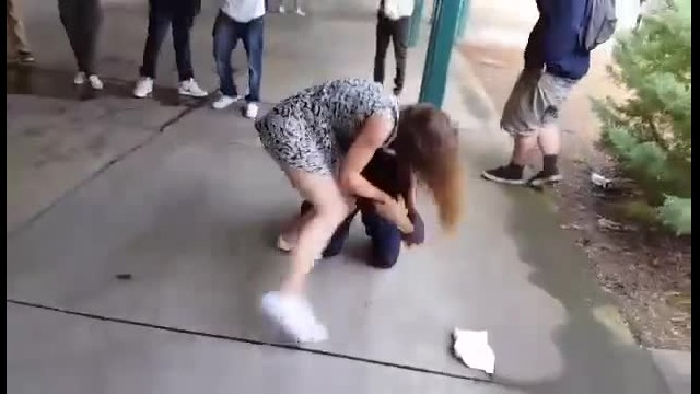 He Decided To Bully A Girl In The Middle Of School, Had No Idea She's Trained In Self-Defense