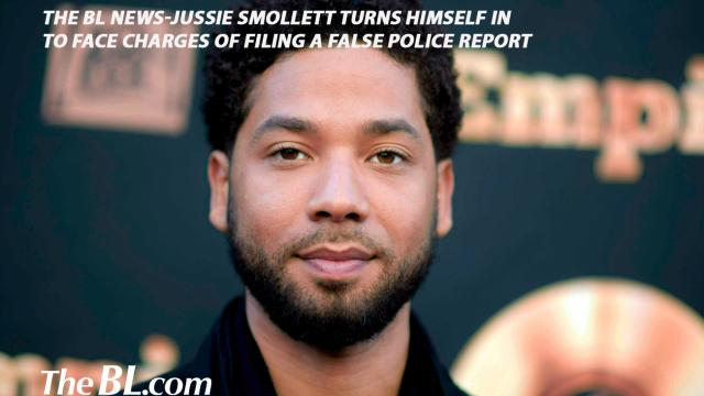 The BL News-Jussie Smollett turns himself in to face charges of filing a false police report