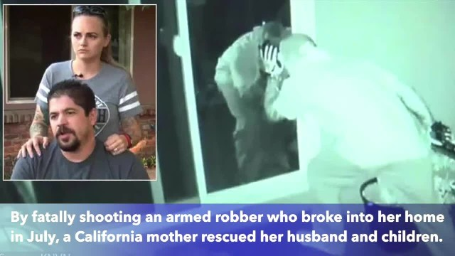 Mom shoots armed robber who was using her husband as human shield