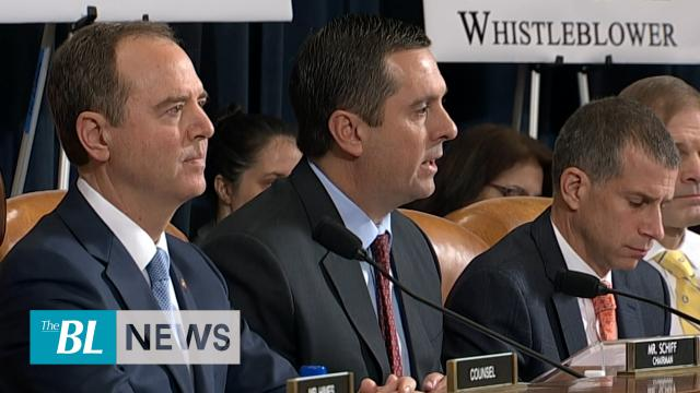 Rep. Nunes reads second transcript released moments before hearings