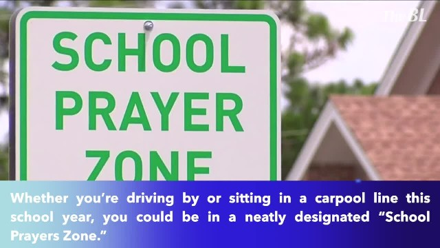 'School Prayer Zone' road signs popping up around Columbia ahead of new school year