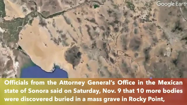 Mexico uncovers 10 more bodies from mass grave south of Arizona border, bringing total to 58