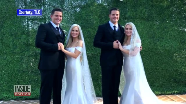 Identical Twin Sisters Marry Identical Twin Brothers In Joint Ceremony