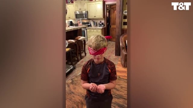 Marine surprises family after being gone for 1 yr but it's little brother's meltdown that goes viral