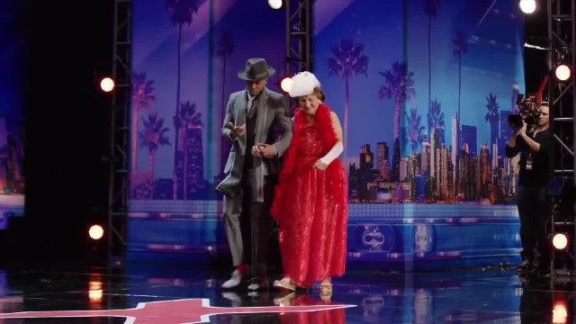 90-Year-Old Startles Judges As She Strips Off Clothes To Dance Ends Up Earning Golden Buzzer