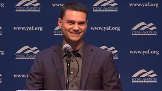 Watch: student asks Ben Shapiro why a fetus is human life — his answer leaves student speechless