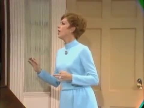 "Carol Burnett and Harvey Korman try to keep it together watching Tim Conway perform the funniest ""Fa"
