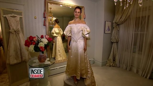 Bride Was 11th In Her Family To Wear Heirloom Wedding Dress