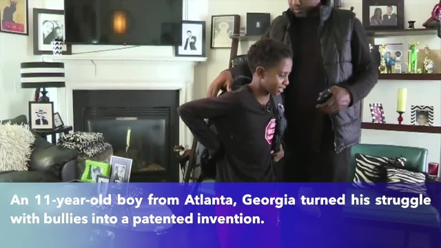 11-year-old Georgia boy invents backpack to stop bullying in schools(1)
