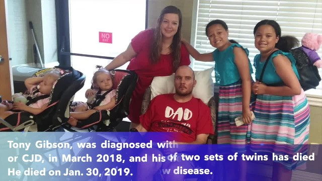 Tennessee father of four dies from rare brain disease linked to mad cow