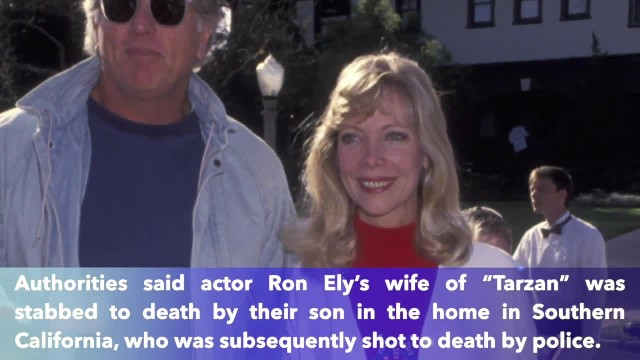 'Tarzan' actor Ron Ely's wife and son killed at home